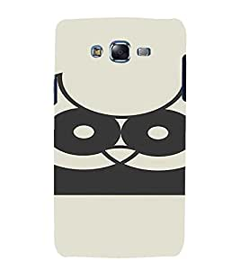 PrintVisa Cute Owl Design 3D Hard Polycarbonate Designer Back Case Cover for Samsung Galaxy J7