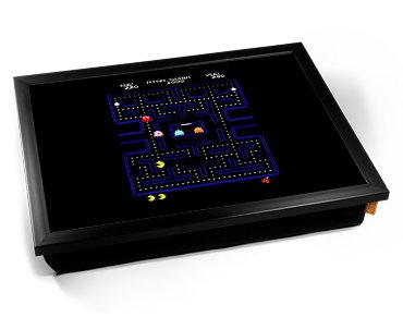 Pac-Man Game Cushion Lap Tray
