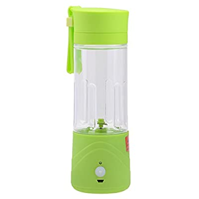 Portable Mini Rechargeable Juice Extractor Ice Frozen Fruit Vegetable Smoothie Drink Blender Mixer GARBAGEMALL
