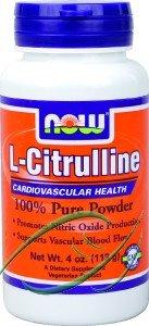 L-citrulline, 100% poudre pure, 4 oz (113 g), à