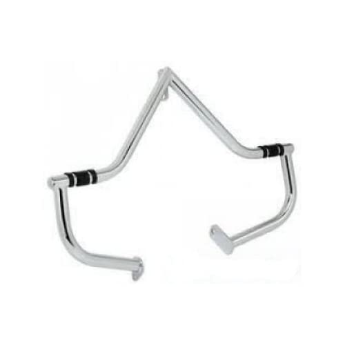 ULTIMA CHROME HIGHWAY CRASH BAR WITH FOOTREST FOR HARLEY FX SOFTAILS