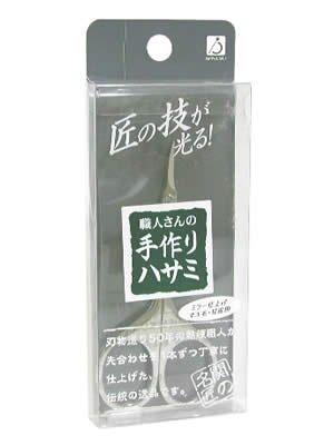 職人さんの手作りハサミ TS111 マユ毛・甘皮用 ミラー仕上げ