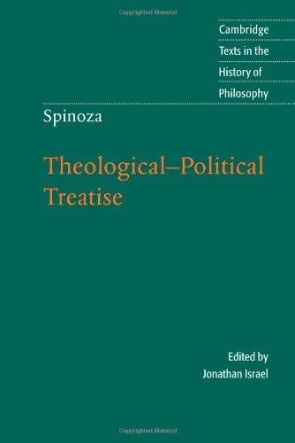 Spinoza essay questions