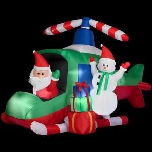 Amazon com christmas decoration lawn yard inflatable santa and