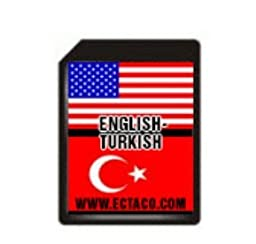Ectaco SD C-4 ET SD Card English-Turkish