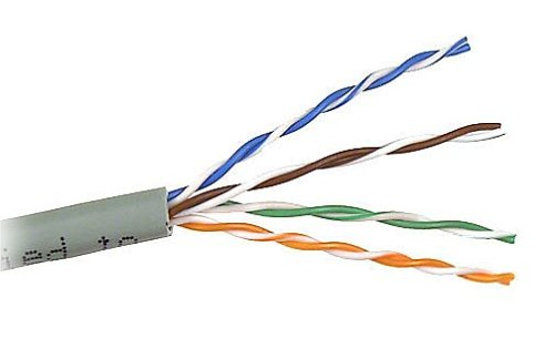 Belkin CAT6 1000-Foot Solid Bulk Cable (Gray)