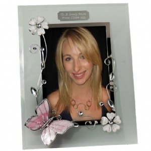 Personalised Butterfly Photo Frame 6 x 4
