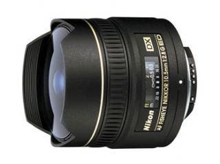 Nikon AF DX Fisheye NIKKOR 10.5mm f/2.8G ED Lens