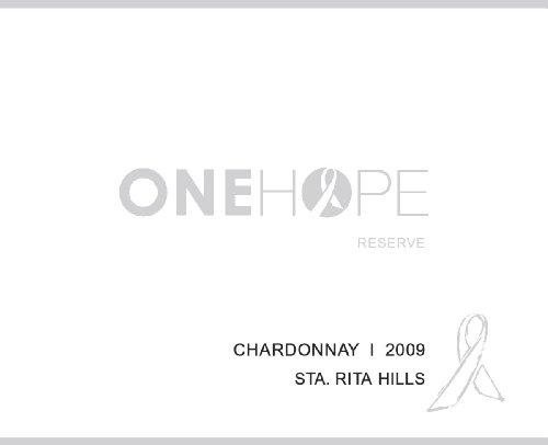 2009 Onehope Sta. Rita Hills Reserve Chardonnay 750 Ml