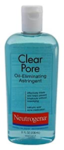 Neutrogena Clear Pore Oil-Eliminating Astringent-8 oz (Quantity of 6) brought to you by Neutrogena