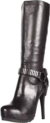Fergie Women's Bella Boot,Black,13 M US