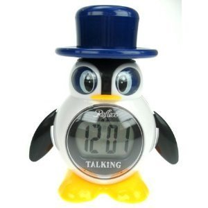 REFLEX – 908-3102 – englisch sprechender Pinguin-Wecker jetzt bestellen