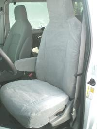 Durafit Covers. FD51-C8 Ford E-Series 15 Passenger Van Exact Seat Covers. Exact Fit Seat Covers for 5 Rows of Seats in Waterproof Charcoal Endura.