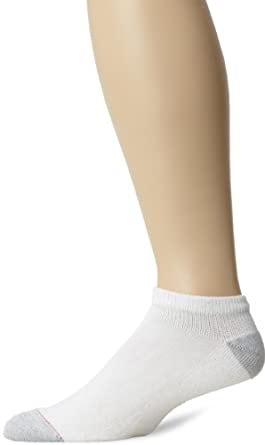 Champion Men?s 10 Pack Low Cut Sock, White, 10-13
