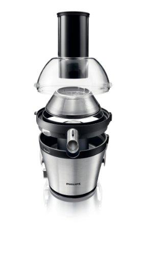Philips-HR187110-Entsafter-2-Geschwindigkeiten-XXL-Einfllffung-silber