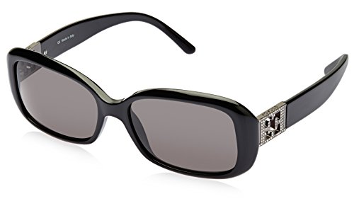 Escada Escada Rectangular Sunglasses (Black) (SES 133S|700S CC|57)
