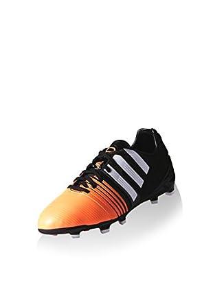 adidas Botas de fútbol Nitrocharge 1.0 TRX FG (Negro / Naranja)