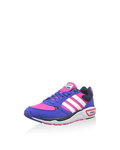 Adidas Sneaker Cloudfoam 8TIS W rosa/weiß/blau