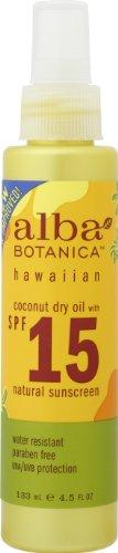 alba BOTANICA アルバボタニカ ハワイアンサンオイルTC ココナッツオイル