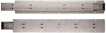 Sugatsune TSS-3 304 Stainless Steel Drawer Slide, Full Extension, Positive Stop (1 Pair)