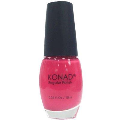Konad Nail Art Stamping Polish 10ml - Solid Pop Pink