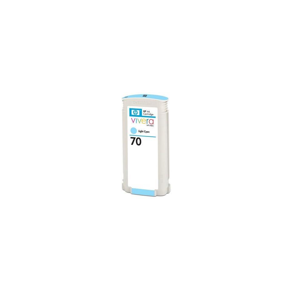 Hewlett Packard 70 Ink Light Cyan 130 Ml High Quality