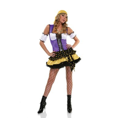 Good Fortune Gypsy Holiday Party Costume