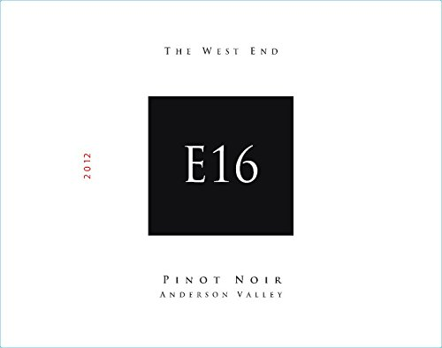 "2012 E16 Anderson Valley ""The West End"" Pinot Noir 750 Ml"