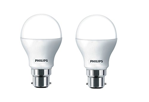 Philips 6W B22 600L LED Bulb (Cool Day Light, Pack of 3)