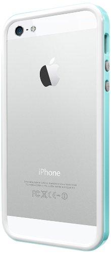 国内正規品SPIGEN SGP iPhone5/5S ケース ネオ・ハイブリッド EX スリム スノーシリーズ [ミント] SGP10030