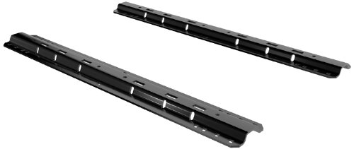 Best Review Of Curt Manufacturing 16104 5Th Wheel Rails Only (Gloss Black)