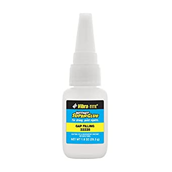 Vibra-TITE 322 General Purpose Instant Superglue: Gap Filling