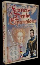 Francis Drake Expansion: Boxed Set (Includes 2 & 6 Player Expansion) (Francis Drake Board Game compare prices)