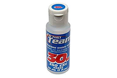 Team Associated 5422 30 Weight Silicone Shock Oil, 2-Ounce