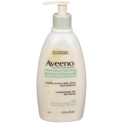 Amazon.com : Aveeno Active Naturals Positively Radiant Moisturizing