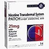 1131622 PT# 188161 Nicotine Patch 21mg Transdermal Step 1 14/Bx Made by Novartis Nutritional
