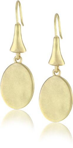 "Kenneth Cole New York ""Urban Multi"" Gold Circle Drop Earring"