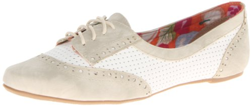 Not Rated Women'S High Spirit Oxford,Cream,8 M Us