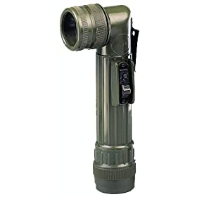 Army Olive Drab Style C-cell Flashlight