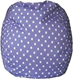 Bean Bag Polkadots Purple