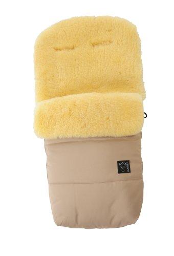 Kaiser Stroller Sheepskin Foot Muff Natura (Sand)