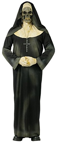 Funworld Womens Evil Scary Sinister Sister Nun Adults Halloween Themed Costume