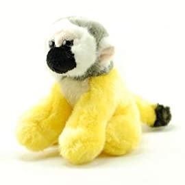ZSL - Minis Lifelike Soft Toy Squirrel Monkey