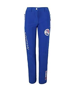 Nebulus Pantalón Softshell Straight (Azul)