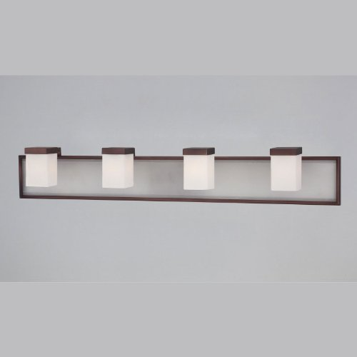 Quoizel Vtmy8504Z Vetreo Make Your Own 4 Light Bath Wall Fixture With Led Nightlight