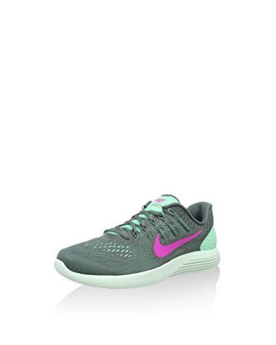 Nike Zapatillas Wmns Lunarglide 8 Verde / Rosa