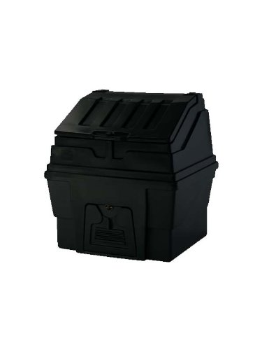 500kg Plastic Coal bunker Green
