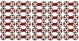 312U1772OtL. SL160  Red Double Sock Locks Sock Holders