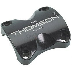 Thomson X4 Bicycle Stem Face Plate (Black)