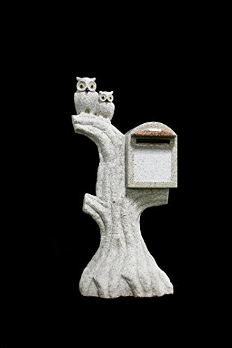 Granite Mailbox Featuring Gray Owls On a Tree LSS-16 Ston... http://www.amazon.com/dp/B00XYPDWEO/ref=cm_sw_r_pi_dp_FEPhxb10064ZD